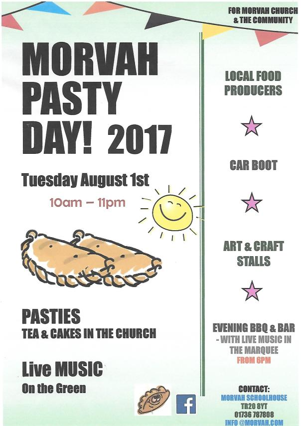 morvah pasty day