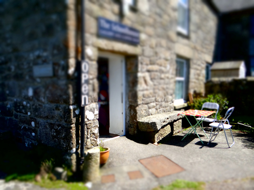 Morvah Schoolhouse tilt shift