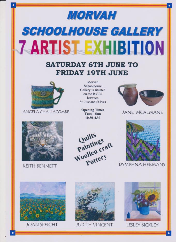 7artists poster 070615