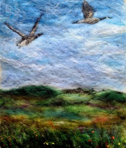 wild geese - paint