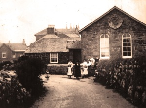 morvah chapel school house wesley methodist cornish art craft venue village traditional children class black white chapel church john