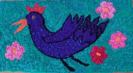 Julia La Vasseur: hooked bird