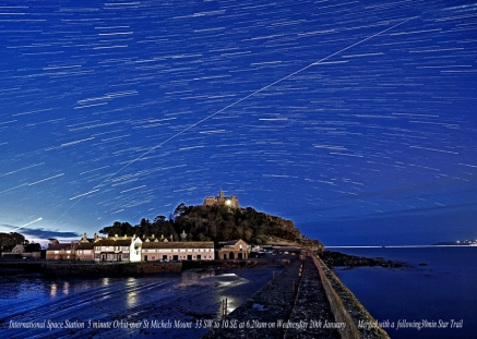 Iss over mount with 30 min star trail  and text cropped 17.5x12.5